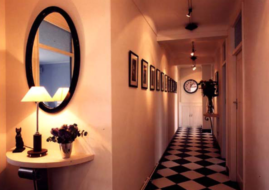 Click the thumbnails below to view gallery of this Art Deco Hallway