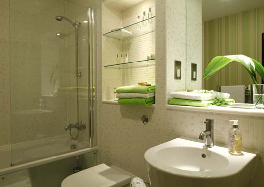 A completed interior design project in funky modern style - Funky bathroom accessories uk ...
