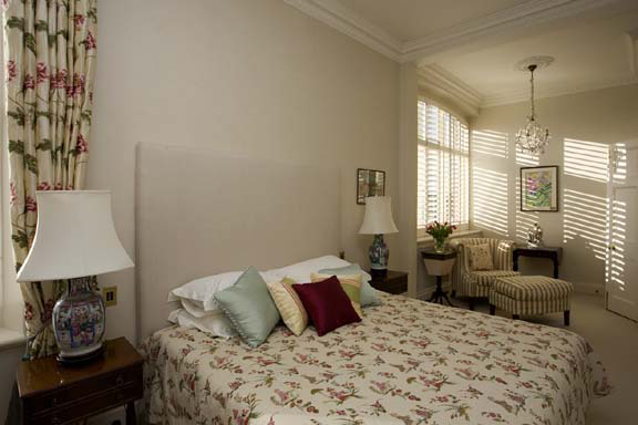 A completed interior design project in traditional style for Interior design bedroom traditional