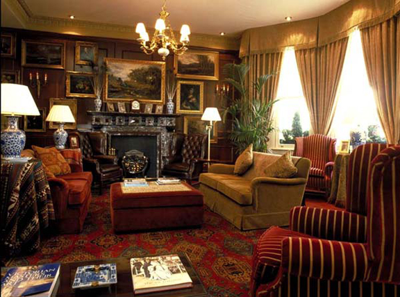 Victorian Interior Design Used In A Commercial Hotel